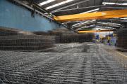 Объемные составные арматурные каркасы произведены на линии Synthesis AWM. Производство компании Sidenor, Греция, июнь 2013 г.