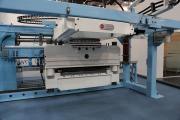 Автоматическая гильотина линии TNL для производства криволинейных каркасов, представленная на выставке Wire 2014 в Дюссельдорфе
