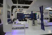Стенд компании Clifford на выставке Wire 2014 в Дюссельдорфе