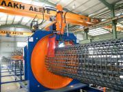 Стандартные машины DC Macchine способны производить цилиндрические каркасы весом до 10 тонн