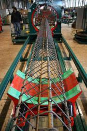 Станки Pilemaster могут производить сварные каркасы квадаратного, прямоугольного, овального, треугольного сечения