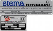 Шилдик со станка DC Macchine, произведенного по заказу компании Stema