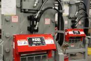 Линии мерной резки на складе KRB перед отправкой заказчику