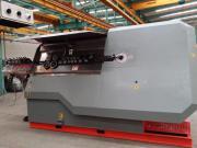 Самая популярная модель из ряда скобогибочных станков TJK WG 12E-1 для обработки бухтовой арматуры диаметром 12 мм